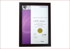 facial aesthetics certificate