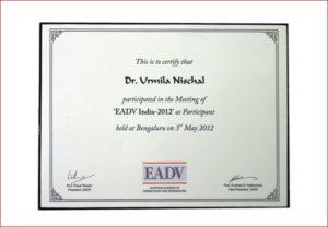EADV India 2012