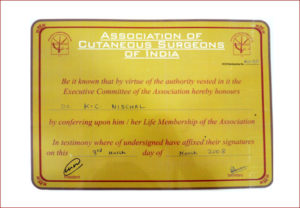 Association of cutaneous surgeons of india