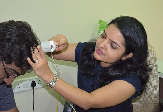 Hair and scalp